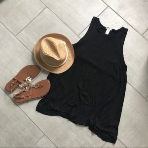 H&am Black Shift Dress
